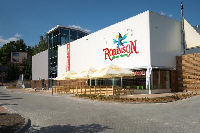 Dětská hriště Rodinný park Robinson